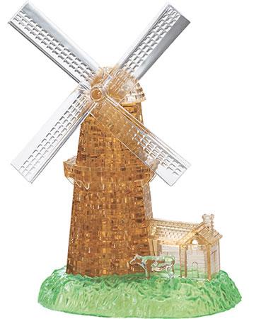 3D Kristallpuzzle - Windmühle