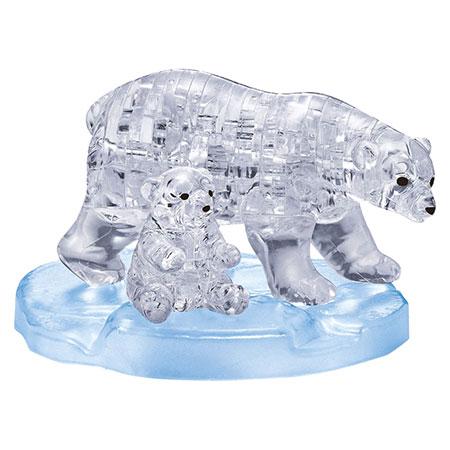 3d-kristallpuzzle-eisbarenpaar