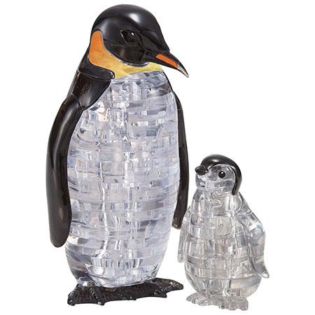 3D Kristallpuzzle - Pinguinpaar