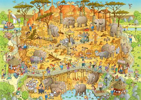 Funky Zoo - Afrika