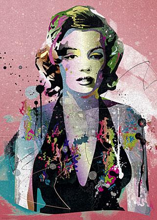 Marilyn Monroe Portät