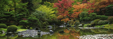Ruhe im Zen-Garten