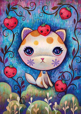 Erdbeer-Kätzchen