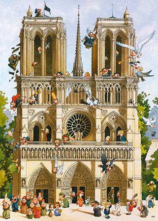 Vive Notre Dame!, Loup