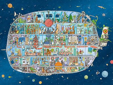 Verrücktes Raumschiff