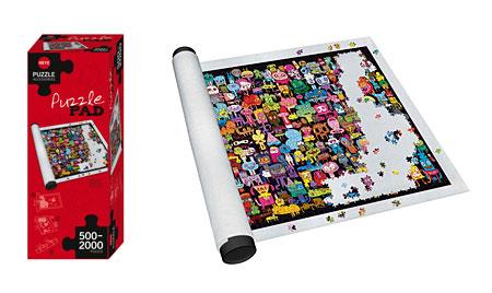 Puzzle Pad - weiß (für 500 - 2000 Teile)