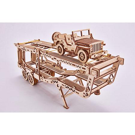 Wood Trick - Autoauflieger für LKW-Zugmaschine