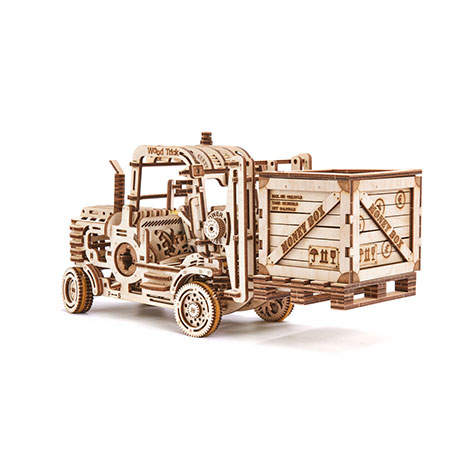 Wood Trick - Gabelstapler