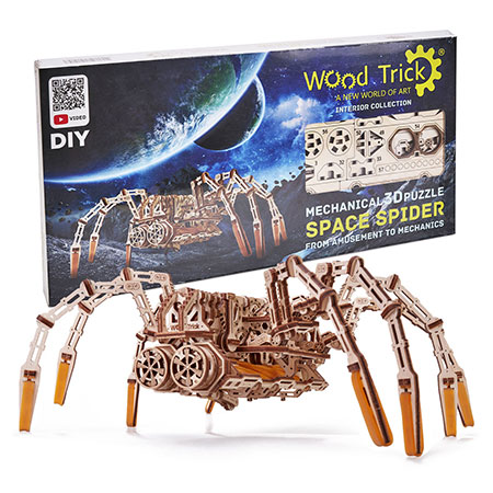 Wood Trick - Space Spider