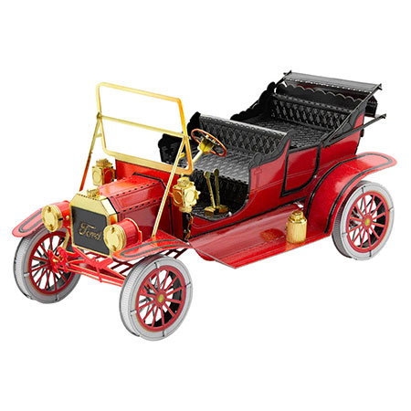 Metal Earth - 1908 Ford Model T (rot)