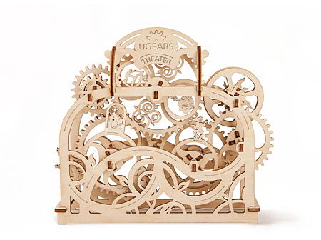 3D Holzpuzzle - Ugears - Theater