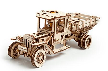 3D Holzpuzzle - Ugears - Lastwagen
