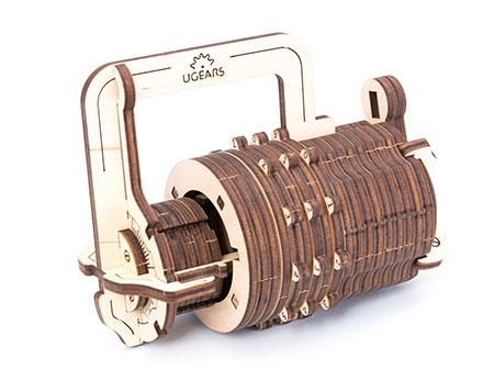 3D Holzpuzzle - Ugears - Kombinationsschloss
