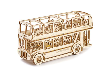3D Holzpuzzle - Wooden City - Doppeldeckerbus