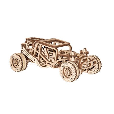 3D Holzpuzzle - Wooden City - Buggy