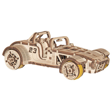 3D Holzpuzzle - Wooden City - Roadster