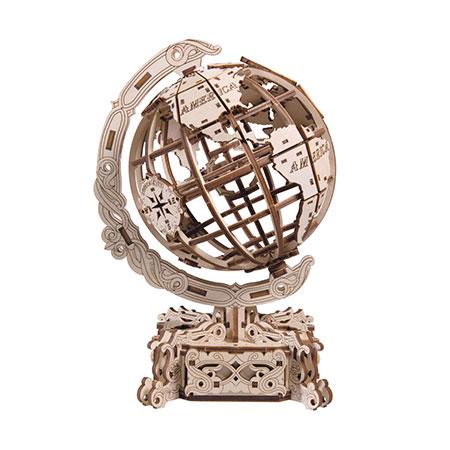 3D Holzpuzzle - Wooden City - Globus