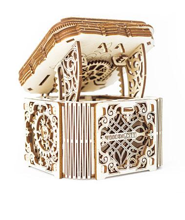 3D Holzpuzzle - Wooden City - Geheimkiste