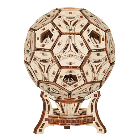 3D Holzpuzzle - Wooden City - Football Cup Organizer