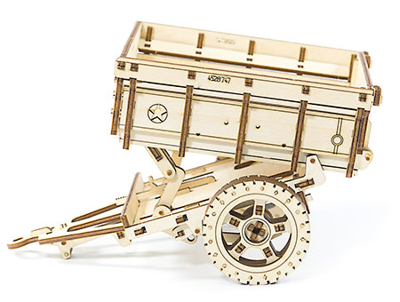 3D Holzpuzzle - Wooden City - Anhänger