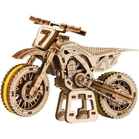 3D Holzpuzzle - Wooden City - Moto Cross