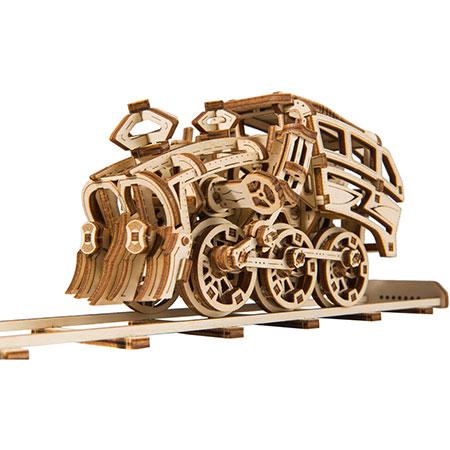 3D Holzpuzzle - Wooden City - Dream Express + Schiene