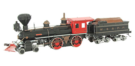 "Metal Earth - Wilder Westen - Lokomotive 4-4-0 ""American"""