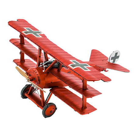 Metal Earth - Tri-Wing Fokker Roter Baron