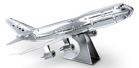 Metal Earth - Commercial Jet Boeing 747