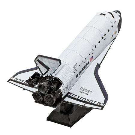 Metal Earth - Space Shuttle Atlantis (bunt)