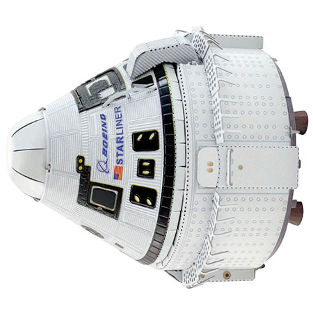 Metal Earth - Boeing CTS-100 Starliner