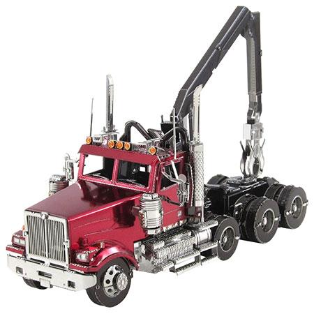 Metal Earth - Western Star 4900 Log Truck