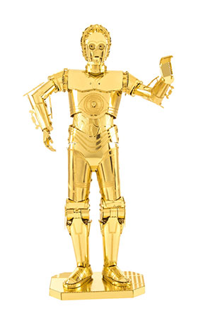 Metal Earth - C-3PO (goldenes Modell)