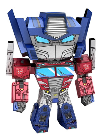 Metal Earth - Transformers Legends - Optimus Prime