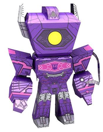 Metal Earth - Transformers Legends - Shockwave
