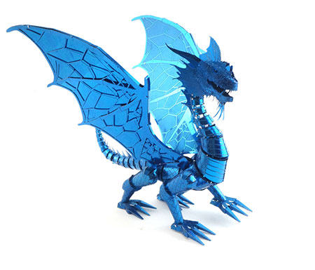 metal-earth-blauer-drache