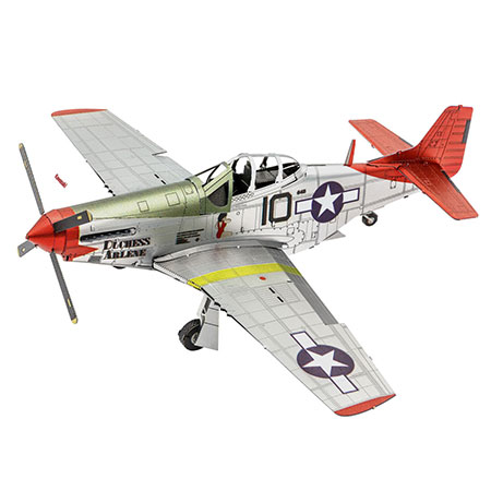 Metal Earth: Iconx - Tuskegee Airmen P-51D Mustang