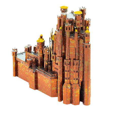Metal Earth - Iconx - Game of Thrones - Roter Bergfried