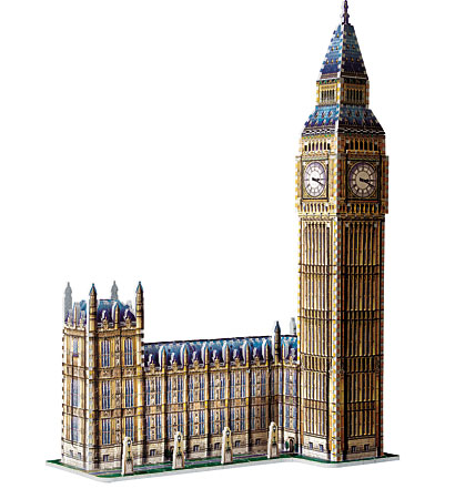 Big Ben & House Of Parliament - Queen Elisabeth Tower