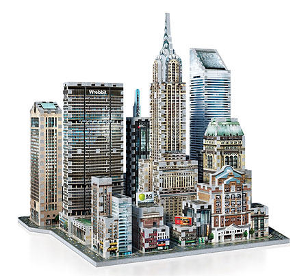 3D Puzzle - Midtown East - New York