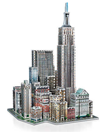 3D Puzzle - Midtown West - New York