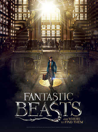 Fantastic Beasts - Poster Puzzle - Macusa