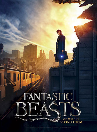 Fantastic Beasts - Poster Puzzle - New York