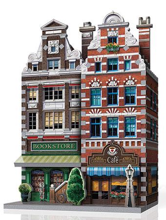 3D Puzzle - Urbania - Café