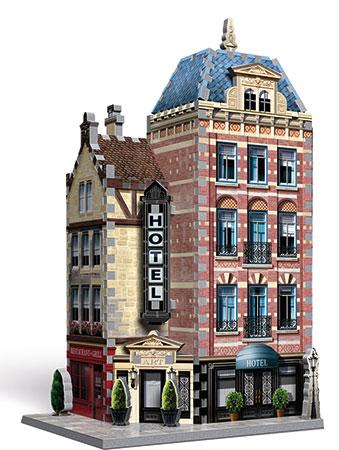 3D Puzzle - Urbania - Hotel