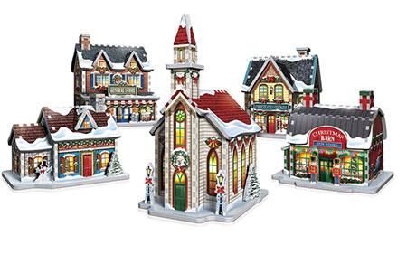 3D Puzzle - Weihnachtsdorf