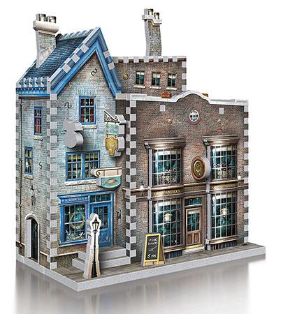 3D Puzzle - Harry Potter - Ollivander´s Zauberstab- und Schreibwarenladen