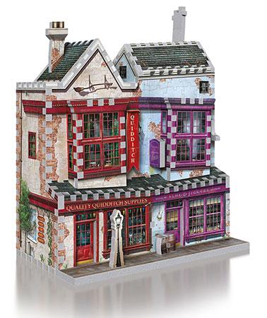 3D Puzzle - Harry Potter - Qualitäts Quidditch Shop & Apotheke