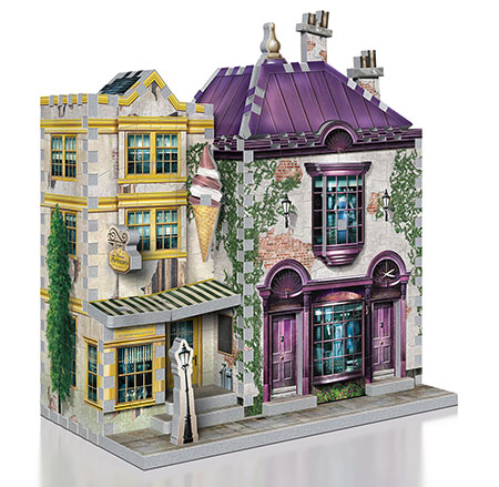 3D Puzzle - Harry Potter - Madam Malkin´s Anzüge & Florean Fortescue´s Eissalon