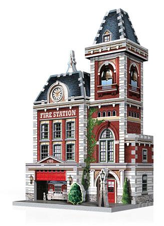 3D Puzzle - Urbania - Feuerwache